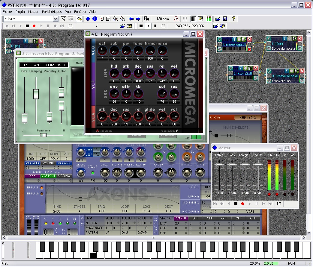 Table de mixage studio virtuel - Telecharger table de mixage pc gratuit ...